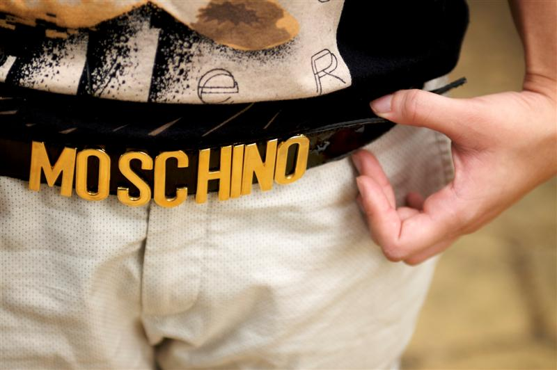 Moschino belt / 皮帶