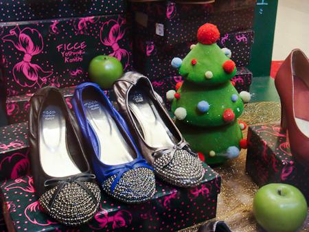 ficce 鞋子 聖誕節 christmas