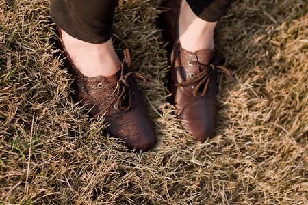 all black oxfords 牛津鞋