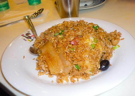 炒飯 very yummy fried rice