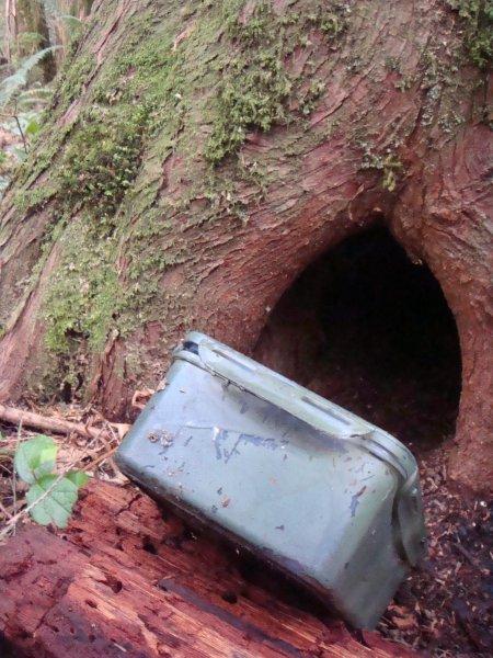 地理藏寶盒 geocache container