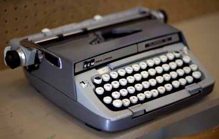 Typewriter, The Regional Assembly of Text