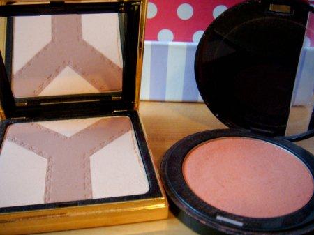 YSL palette Y, make up forever blush