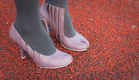 Irregular Choice split toe heels 高跟鞋