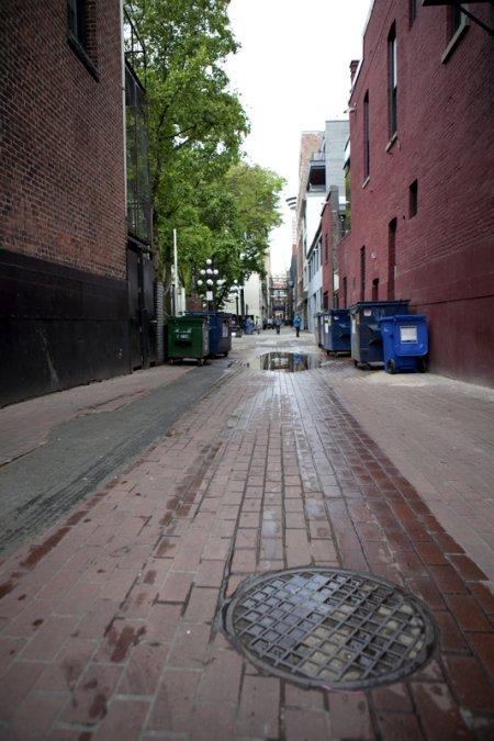 溫哥華煤氣鎮的血腥巷 Blood Alley