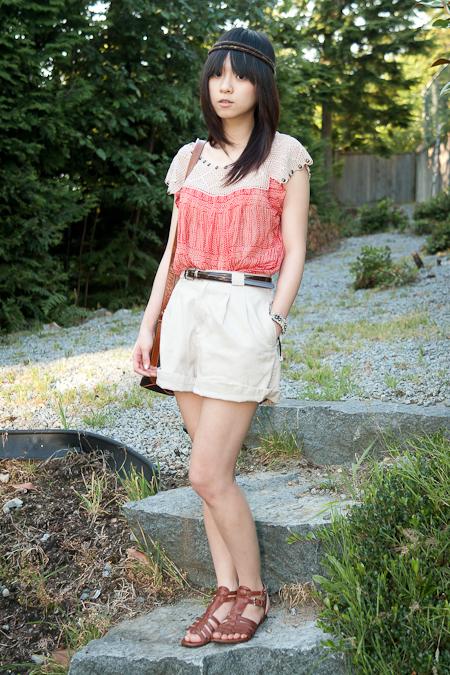 Liz Claiborne shorts 短褲