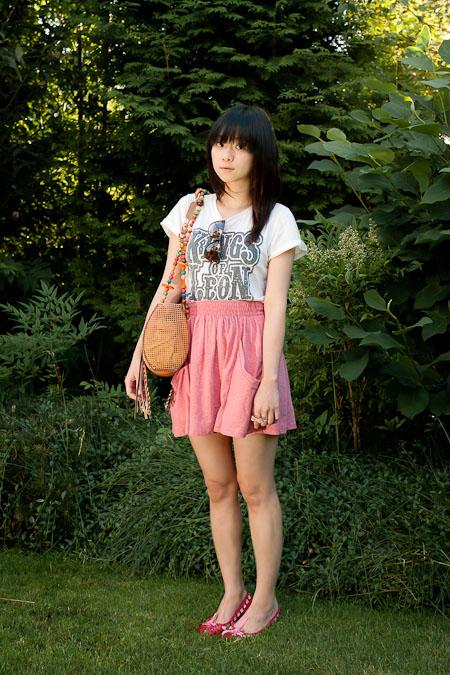 Zara skirt 短裙