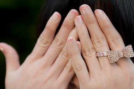 Forever 21 bow ring 戒指