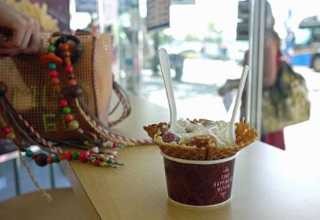Marble Slab, Denman Street, Vancouver 冰淇淋