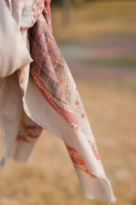 vintage scarf 古董方巾