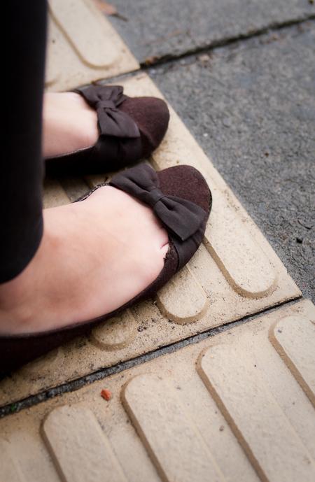 joe fresh flats 平底鞋