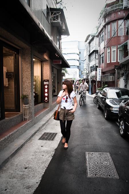 永康街, yung-kang street area