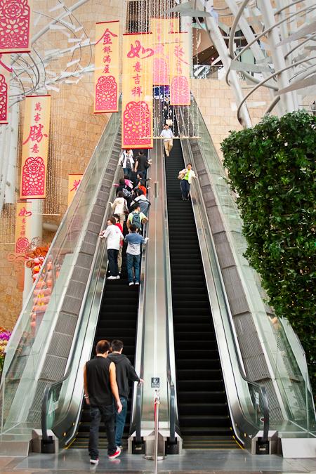 香港旺角朗豪坊商場 hong kong mongkok langham place