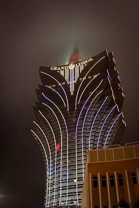 澳門新葡京酒店 grand lisboa macau