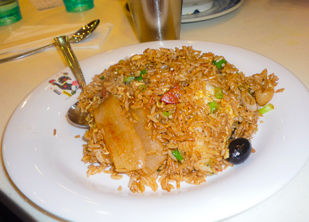 炒飯 very yummy fried rice