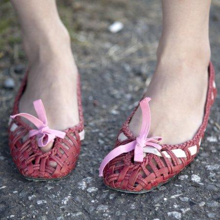 Irregular Choice thatcher flats 平底編織鞋
