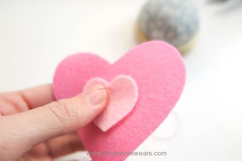 DIY hand warmers 情人節愛心不氈布手作環保暖暖包 (3)