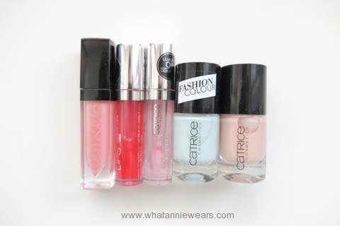 Catrice 歐洲開架彩妝戰利品指甲油唇蜜液態唇彩分享