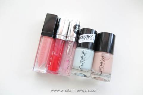 Catrice 歐洲開架彩妝戰利品指甲油唇蜜液態唇膏分享