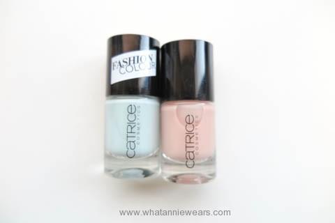 Catrice 歐洲開架彩妝戰利品指甲油試色分享 (1)
